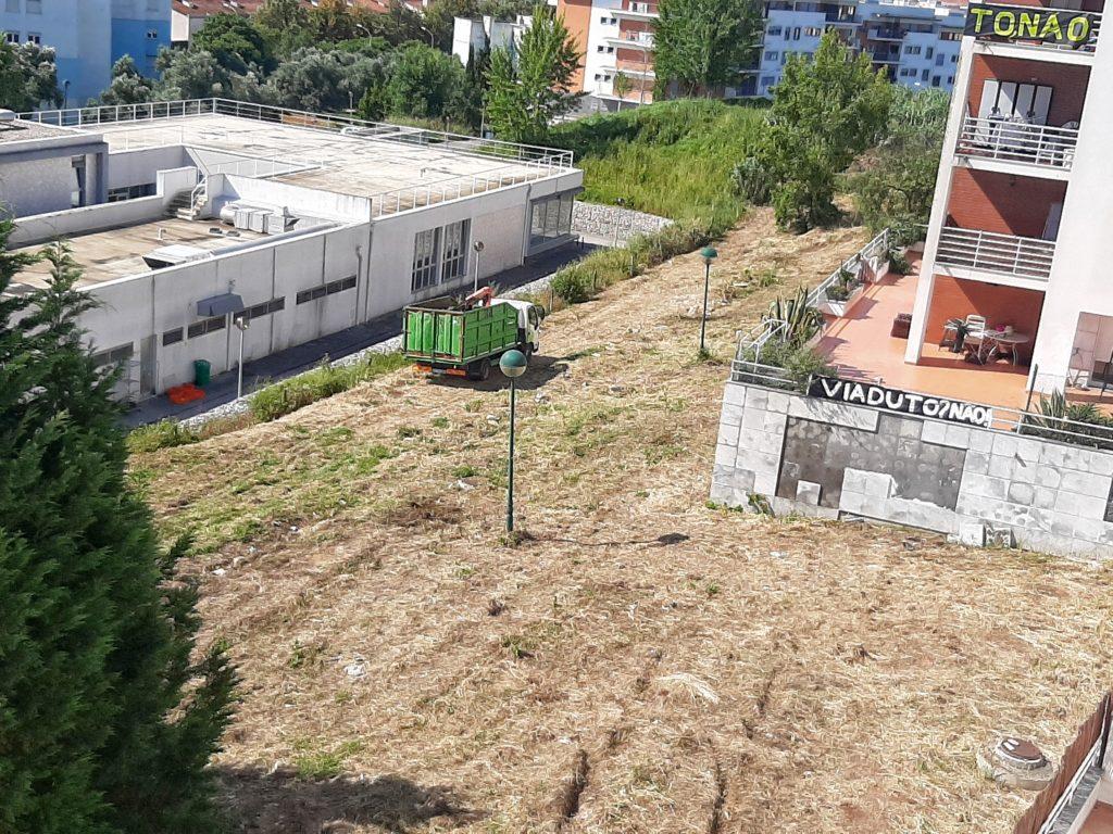 Terreno insuficiente para a VLS
