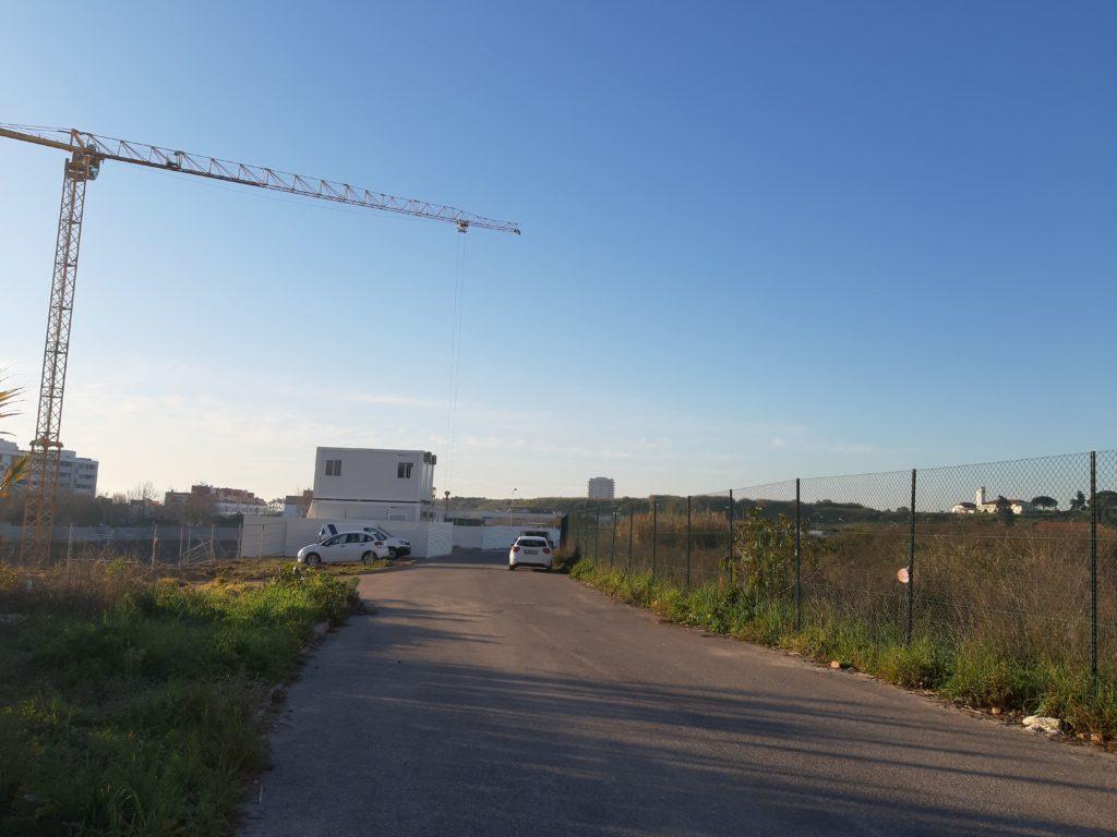 evoluir oeiras - estaleiro de construção